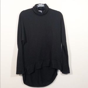 3/$25 Madison & Berkeley Turtleneck High Low Top